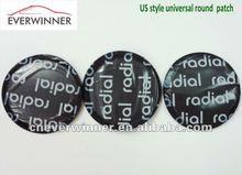 Us style universal round tire radial patch, cold patch