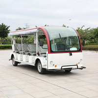 23 Seater Electrical Shuttle Bus Tourist Car (DN-23)