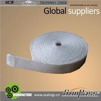 Heat Oven Insulation Fiberglass Taper Texturized Glass Fiber Tape