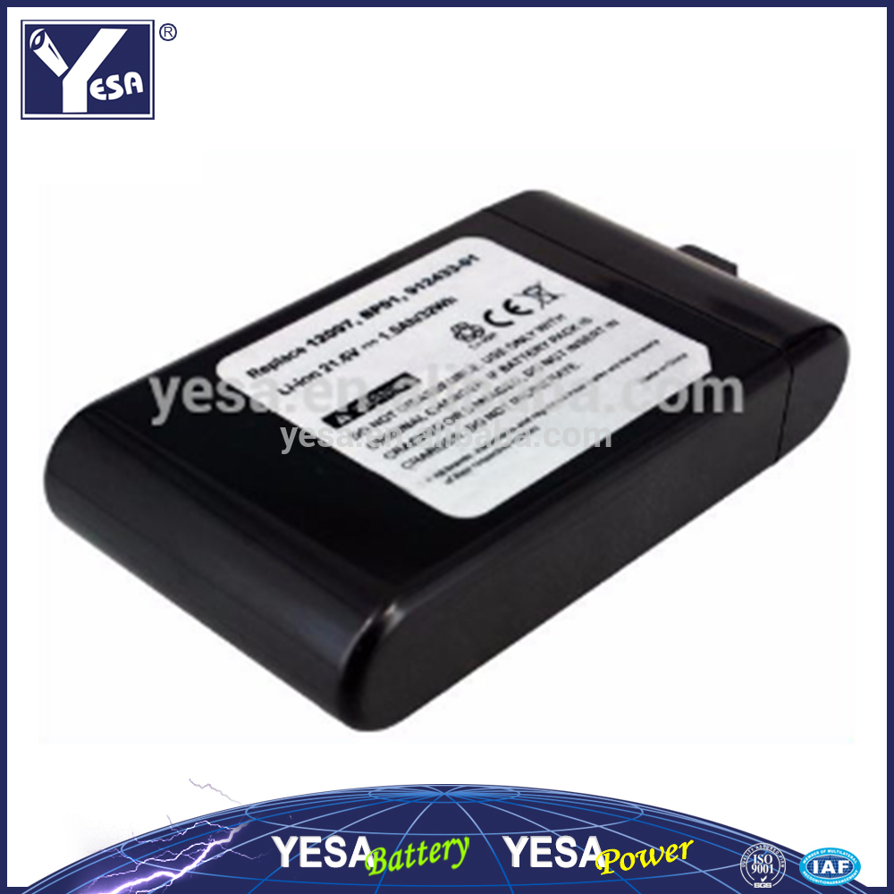 21.6V 1.5Ah Li-ion battery for Dyson DC16 series Cordless Vacuum Battery for 12097 912433- 03 912433-01 BP01 cleaner battery