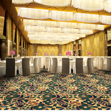 Cheap Wall to Wall Ballroom Casino Runner Corridor Restaurant Floor Loop Pile Modern 3d Nylon Printed Carpet For Hotel Bedroom