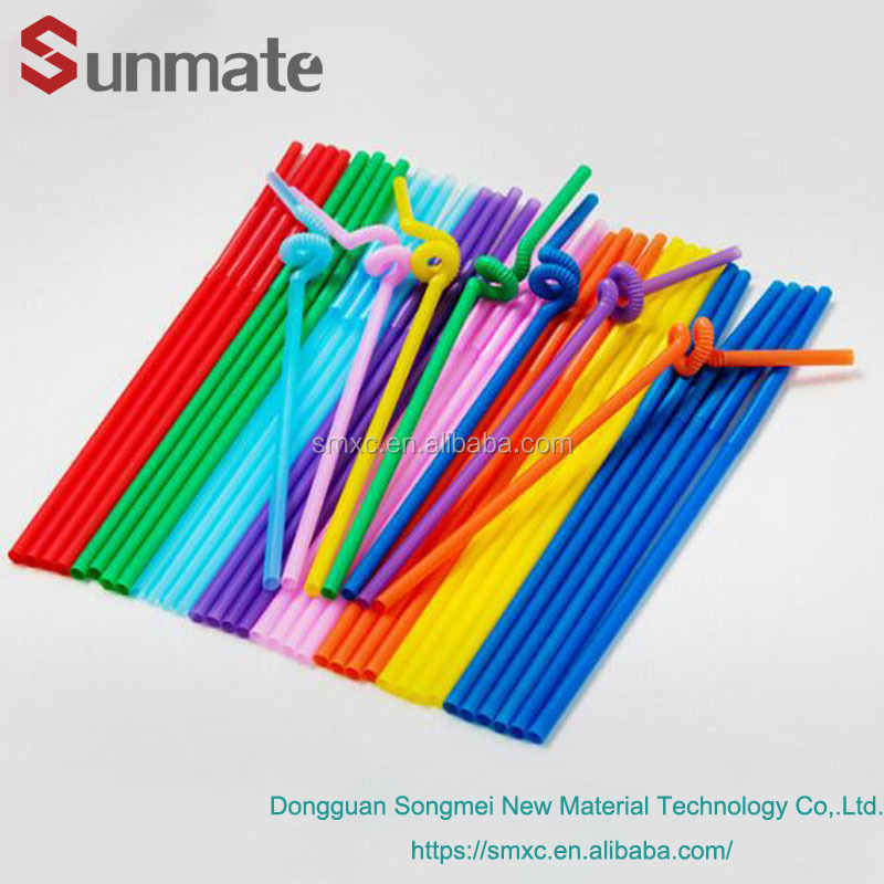 100% Biodegradable Cornstarch plastic drinking straw straight & bendable PLA straw