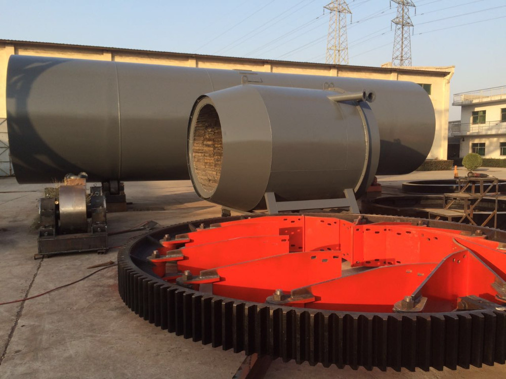 Ore slag drying machine for copper ore and gold ore