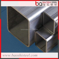 Metal Building Materials 0.8~30.0mm Q500 High Strength Structure Square Steel Pipe