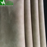 Chinese Factory PU yarnbuck Synthetic leather for sofa furniture