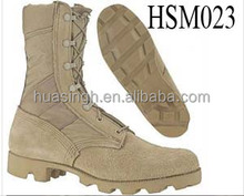 army personal wearing dirty resistant Altama suede desert boots for jungle/combat/tactical