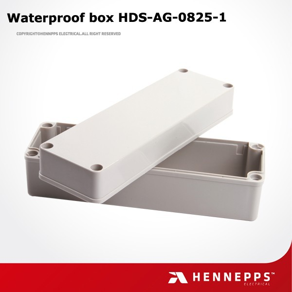 China supplier waterproof electrical plastic junction box price 80*250*85mm