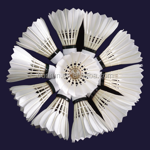 Best Sale Durable Goose Feather Tournament Badminton Shuttlecock