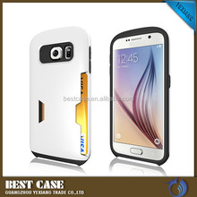 Hard Armor Case For Galaxy S6 G9200 Hybrid Protectore Cover