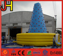 Commercial Inflatable Floating Rock Climbing Mountain for Sale