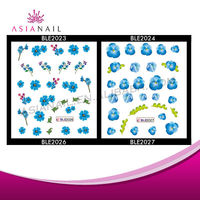 Best Quality Eco-Friendly Unique Design New Fashion Toe Nail Stickers