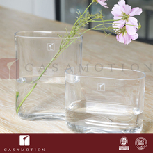 Casamotion Tall Decorative Hydroponics Restaurant Table Flower Vase