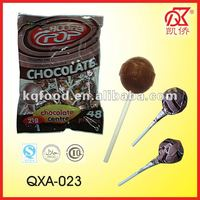 21g Halal Chewy Centre Chocolate Lollipops