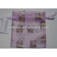 new arrival cheap small black drawstring organza bag for gift net bags candy bag we