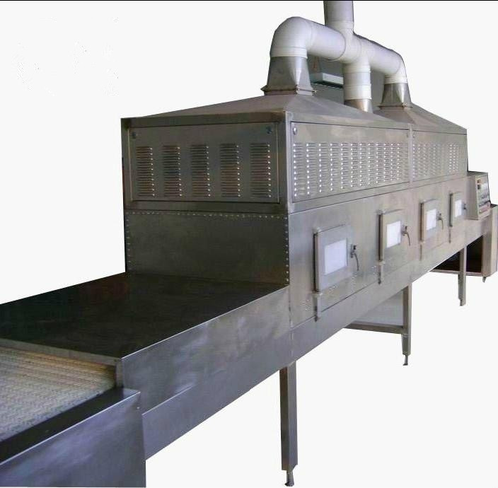 WORKERS brand new belt peanuts microwave drying and sterilization machine dryer dehydrator with good price