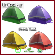 Bright colors Pop up beach tent sun shelter Shade Shack Instant Pop Up Portable Family Beach Tent and Sun Shelter for 2-3 Person