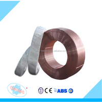 China supplier AWS A5.17 EM12 H08MnA Submerged Arc MIG copper solder Welding wire