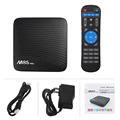 Mecool M8S Pro tv box Android 7.1 TV Box smart tv remote control english blue movie video free download android live tv box