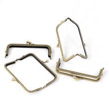 Bag Making Accessories Metal Frame Kiss Clasp Metal Purse Frame