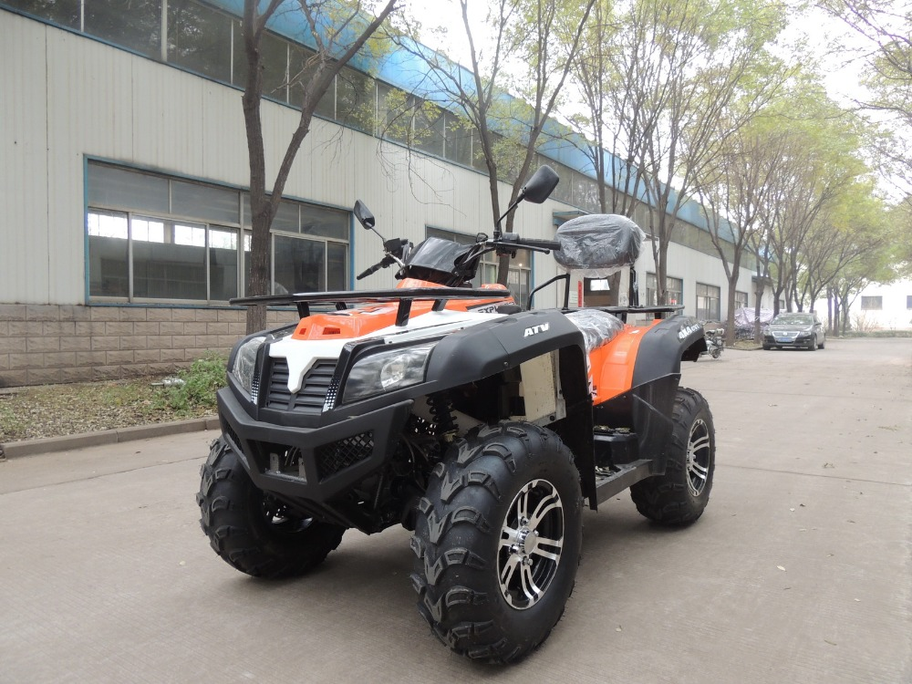 EEC EPA Certification 350 400cc 2WD/4WD SHAFT DRIVE ATV QUAD