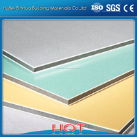 aluminum composite panel specifications in colorful rich color