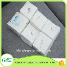 Hot product decorative costomed napkin table tissue paper