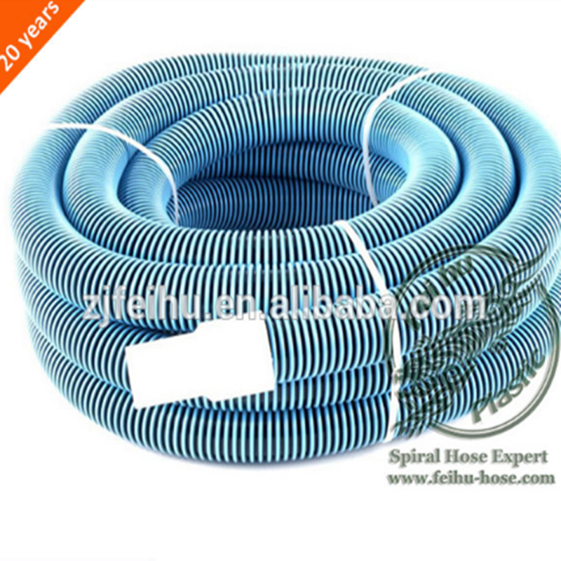 Hot Sale Spiral Wound PE Swimming Pool Vacuum Hose Pipes