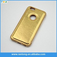 Hot selling strong packing luxury gold aluminum phone case for wholesale