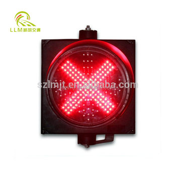 LED warning strobe light, screw mounting waterproof red/blue traffic light