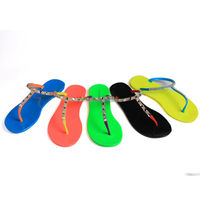 2015 Hot Sale Low Price Newly Beach Ladies Wholesale Rhinestone Flip Flops