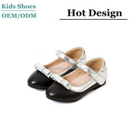Factory direct sale girls new design belly shoes oem /odm top leather dress shoes for girls