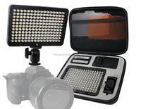 LED Light for DSLR Camera Camcorder Continuous Light, Battery and Charger, Hard Carry Case Photography Photo Video Studio