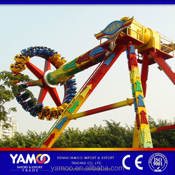 Hot theme park equipment giant pendulum/ amusement game machine mechanical rides for sale
