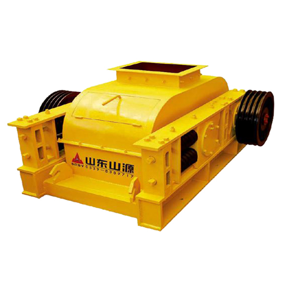 Fine Crushing Machine Quarry Copper Ore Double Roller Crusher