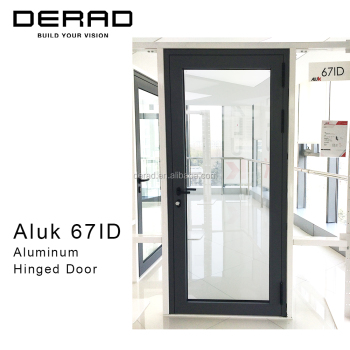 Premium Quality Italian Thermally Broken Aluminium Casement Door