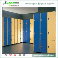 JIALIFU super waterproof bedroom almirah designs steel locker in good quality 8mm hpl side panel