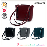 Custom newest fashion genuine leather womens handbag,europe women clutch ladies classical handbags designer shoulder handbag