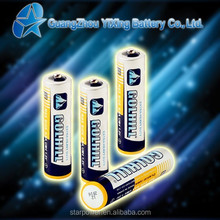 20 mintues dry cell R03 size aaa battery factory