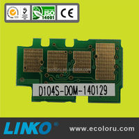 104 chip 104S toner chip MLT-D104S compatible Samsung Chip for Samsung ML- 1660 1661 1665 1666 1865