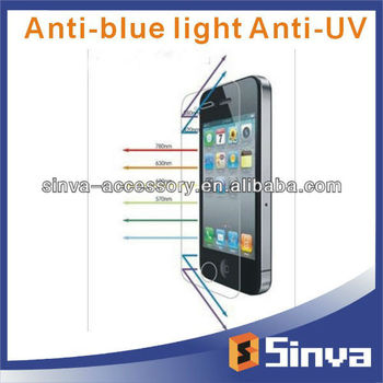 Factory Supply Anti UV Anti Blue Light Screen Filter for Samsung S4 mini