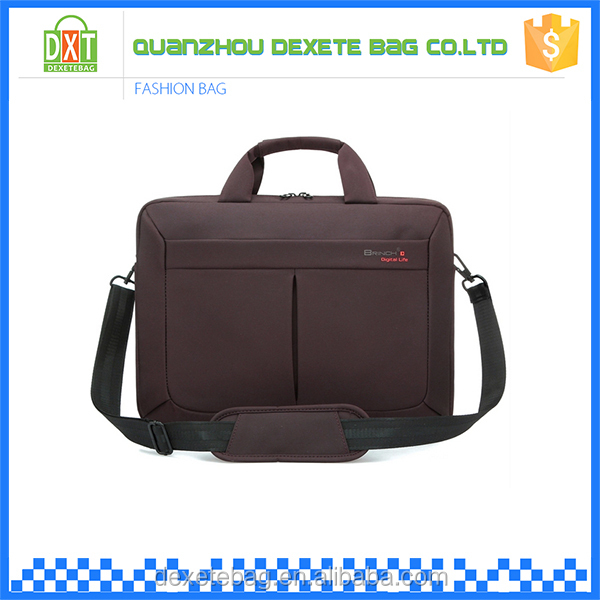 Promotional cheap lightweight custom nylon neoprene laptop bag