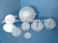 plastic polyhedral hollow ball for tower packing