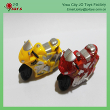 Small Plastic Pull Back Motorcycle Toy For Vending Machine Capsule Toy
