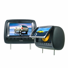 Touch Screen Digital Panel 9Inch Headrest DVD Player With SD USB Wireless Game