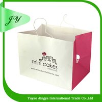 2015 new Eco-friendly fashion upscale colourful specialty cake paper bag
