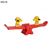 KRX-2707 Kids plastic rocking seesaw for children