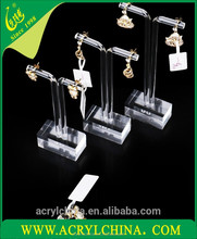 New arrive laser cut tree acrylic jewelry display/jewelry display case