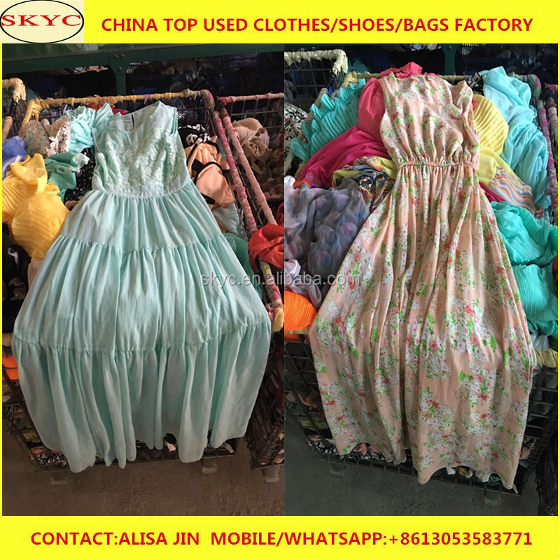 kenya clothing import used clothes Guanzhou adults women blouses children dress sale cheap price