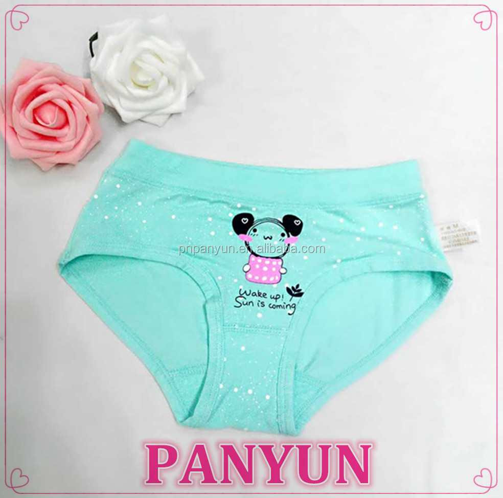 Kid girl model underwear girls underwear child panties