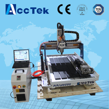 4 axis tools changer foam cutting cnc router/ aluminum cutting machine cnc router 6090